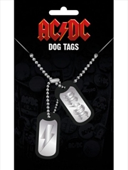 ACDC Logo Dog Tags | Merchandise