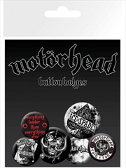 Motorhead Aces Badge 6 Pack