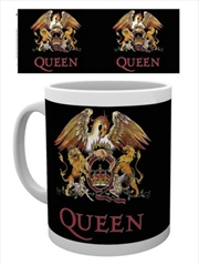 Queen Colour Crest Mug