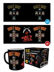 Guns n Roses Cross Heat Changing Mug | Merchandise
