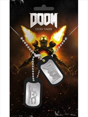 Doom UAC Dog Tags | Merchandise