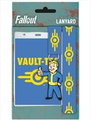 Fallout 4 Vault Tech Lanyard