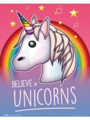 Emoji I Believe in Unicorns | Merchandise
