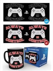 Playstation In Control Heat Changing Mug