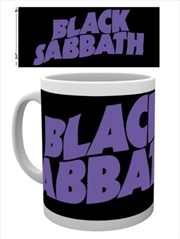 Black Sabbath Logo Mug | Merchandise