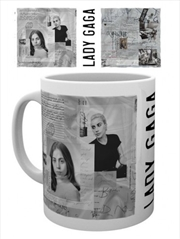 Lady Gaga Notes Mug