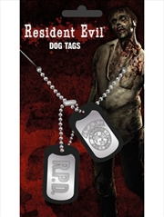 Resident Evil Stars Dog Tags | Merchandise