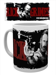 The Walking Dead Rick Graphic Mug