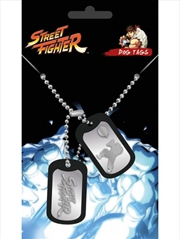 Street Fighter Fight Dog Tags | Merchandise