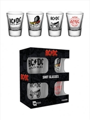 ACDC Mix Shot Glasses