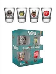 Fallout 4 Icons Shot Glasses | Miscellaneous