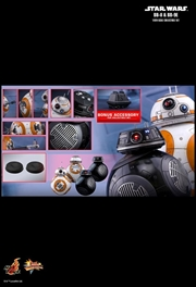 Star Wars - BB-8 & BB-9E Episode VIII The Last Jedi 1:6 Scale Action Figure Set | Merchandise