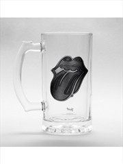 The Rolling Stones Tongue Stein Glass