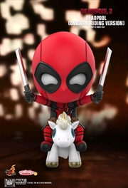Deadpool 2 - Deadpool Unicorn Riding Cosbaby