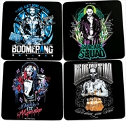 Suicide Squad - Coaster Set of 4 | Merchandise