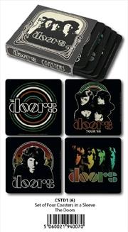 The Doors - Coasters Set Of 4 In Sleeve