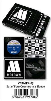 Motown - Coasters (Set Of 4 In Sleeve) | Merchandise