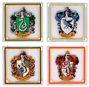 Harry Potter - Houses Glass Coasters Set of 4