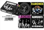 Ramones - Coasters Set Of 4 In Sleeve | Merchandise