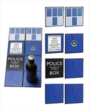 Doctor Who - TARDIS Ceramic Coasters Gift Set | Merchandise