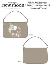 The Twilight Saga: New Moon - Purse Fabric Change Jacob & Tattoo | Apparel