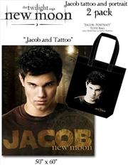 The Twilight Saga: New Moon - Tote & Fleece 2-Pack Jacob Tattoo | Apparel