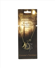 The Twilight Saga: New Moon - Prop Replica Victorias Pendant Necklace | Apparel