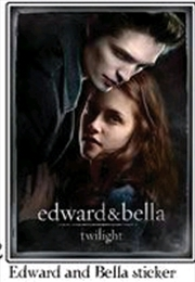 Twilight - Sticker C Edward & Bella