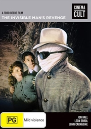 Invisible Man's Revenge, The | DVD