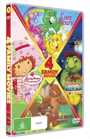 Care Bears/Spring For Strawberry Shortcake/Little Bear Movie/Franklin & Friends | DVD