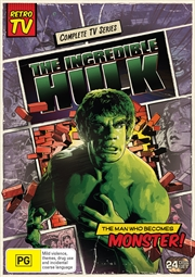 Incredible Hulk - Seasons 1-5  (SANITY EXCLUSIVE)