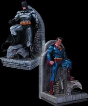 DC Comics - Batman and Superman Bookends