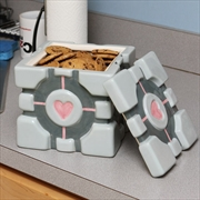 Portal - Companion Cube Ceramic Cookie Jar | Homewares