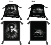 Twilight - Decorative Throw Pillow - Edward Cullen | Homewares