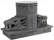 Game of Thrones - Dragonstone Gate Dragon Bookends