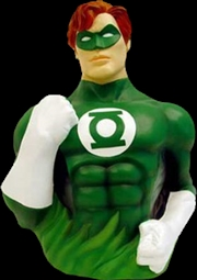 Green Lantern - Green Lantern Bust Bank | Homewares