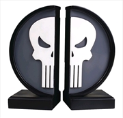 Punisher - Punisher Logo Bookends | Homewares