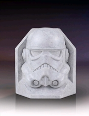 Star Wars - Stormtrooper Stoneworks Marble Bookend | Homewares