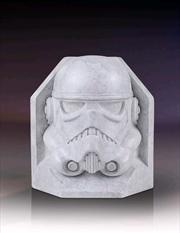 Star Wars - Stormtrooper Stoneworks Marble Bookend | Homewares
