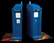 Doctor Who - TARDIS Bookend Set | Homewares