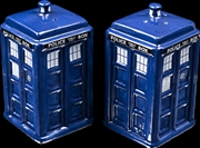 Doctor Who - TARDIS Salt & Pepper Shaker Set | Homewares