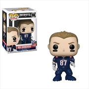 NFL: Patriots - Rob Gronkowski (Color Rush) Pop! Vinyl