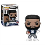 NFL: Cowboys - Ezekiel Elliott (Away) Pop! Vinyl