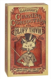 Cunning Concoction Bluff Trivia