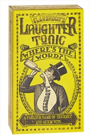 Laughter Tonic Wheres The Word | Merchandise