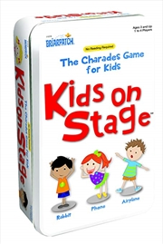 Charades Kids On Stage Tin | Merchandise