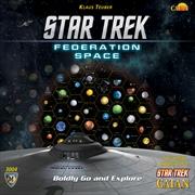 Star Trek Catan - Federation Space Map Set Board Game Expansion | Merchandise