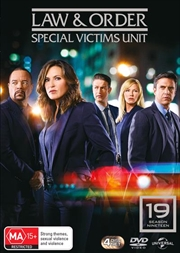 Law And Order - Special Victims Unit - Season 19 | DVD