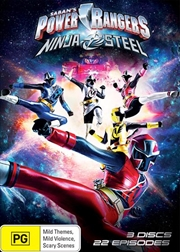 Power Rangers - Ninja Steel | DVD