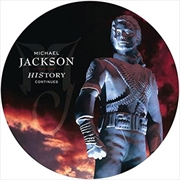 History -  Past Present And Future Limited Edition Picture Vinyl